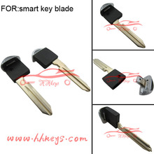Smart Card Nisan Valet Key Metal Blade Shell Blank Cover Case fob