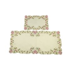 Modern style custom design multi-color kids table computer embroidery mat
