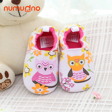 Owl cartoon baby shoes fancy beautiful baby girl shoes cotton prewalker spring autumn