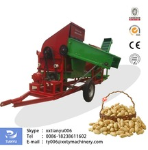 Tianyu peanut picker machine for wet and dry peanut simple