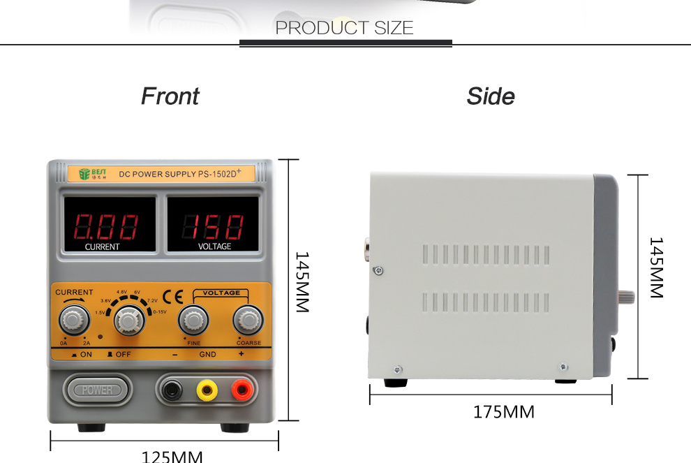 15V 2A power supply,switching dc power supply