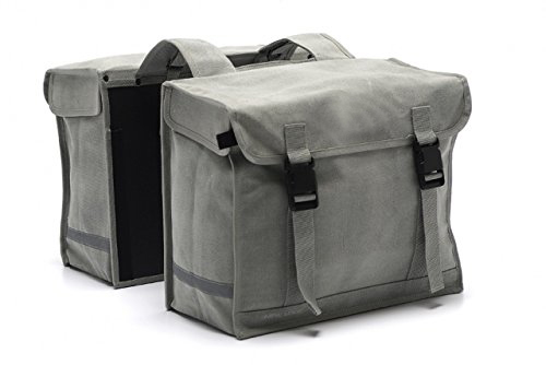 Waterproof Repellency Waxed Canvas Bike Bag (ESC-BB012)