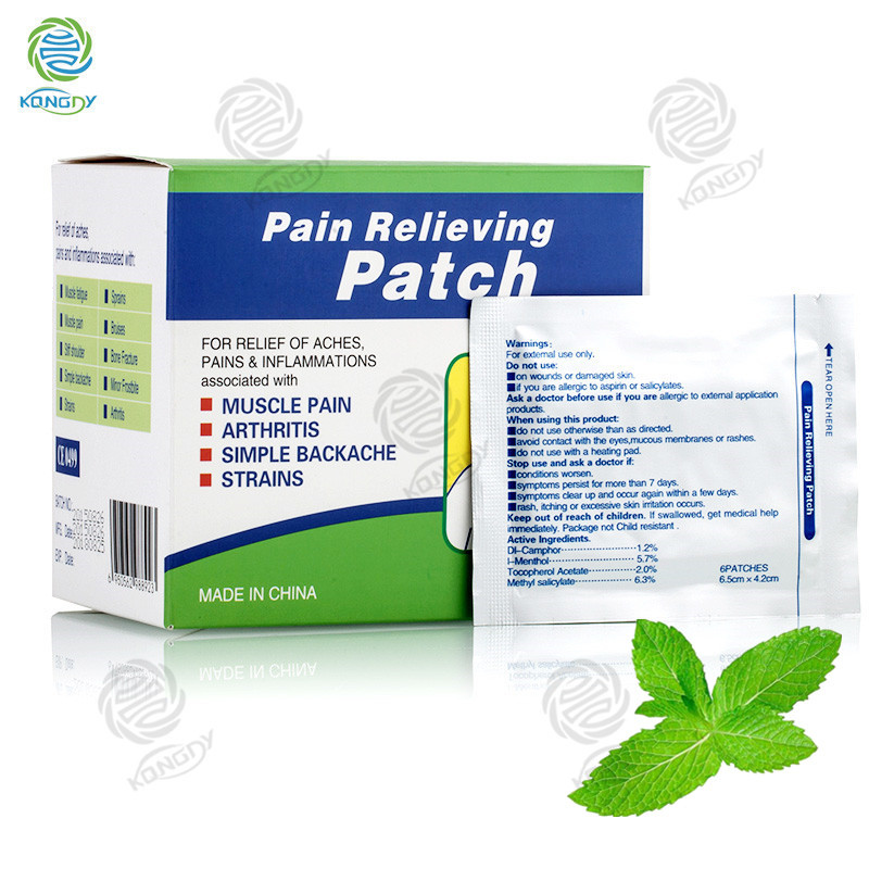 Hot-selling pain killer effective professional manufacturer far infrared pain relief patch