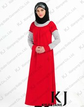 2013 Latest Fashion Design Jubah Cotton Abaya 4946