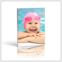 Baby Swimming Rectangle Photo Block Acrylic Picture Frame