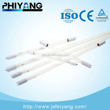 15W two end two pins 254nm ultraviolet germicidal lamp
