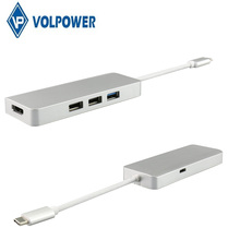 Type-c charging adapter Usb 3.1 Type C charger Hub 3.0 ce fcc rohs for MacBook use