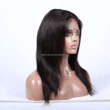 long straight wig cosplay argentine star diego maradona wig human hair front lace wig