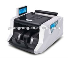 bank note counting and checking machine with double LCD display GR168