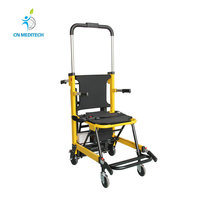 Wholesale high-strength aluminum alloy electric folding stair climbing wheelchair
