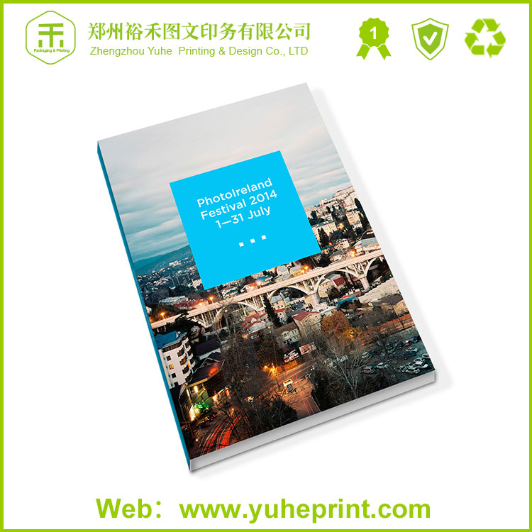 Cheap handmade print service woodfree paper digital printing booklet printing in China