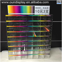 2015 hot sale promotion acrylic pen display stand