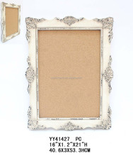 Shabby chic white French style wooden picture frames
