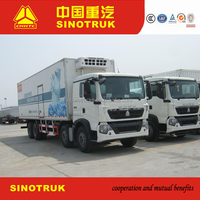 Hot sale freezer truck / refrigerator truck for frozen meat and frozen food