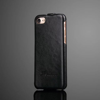 Magnetic Phone Up Down Style Top Open Leather Flip Case for iPhone 7 / 7p