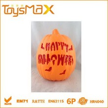 LED halloween plastic craft pumpkins decorative