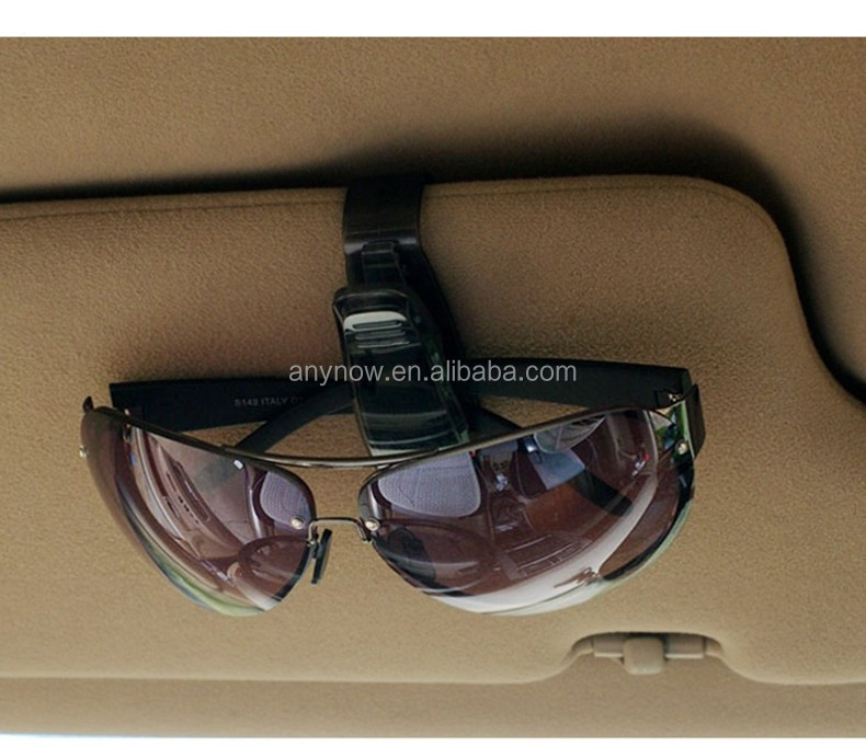 Factory wholesale sale promotion PC auto accessories car glasses clip sunglasses holder