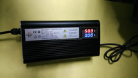 Microcomputer controlled digital display LCD new 36v5a Li-ion charger for power supply