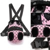 M Dog Front Carrier Nylon Bag Backpack Pet Puppy Cat Tote Head Out Pink Bow Mesh