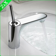 Bathroom Brass Automatic Sensor Faucets Mixer