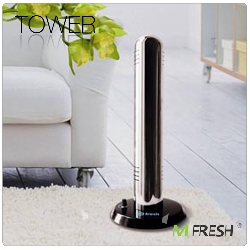 Eliminates odor, allergy Tower ozone air freshener
