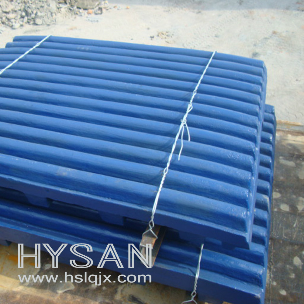 Mining Equipment Casting High Mmanganese Jaw Plate