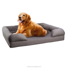 Orthopedic Pet Sofa Bed - Dog, Cat or Puppy Memory Foam Mattress - Comfortable Couch For Pets With Removable Washable Cover