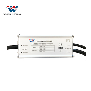 50W PF90 constant voltage 0-10v dimming led driver
