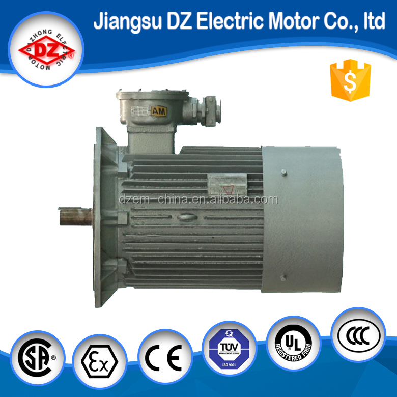 IP66 protect class three phase electric motor 100hp pump motor