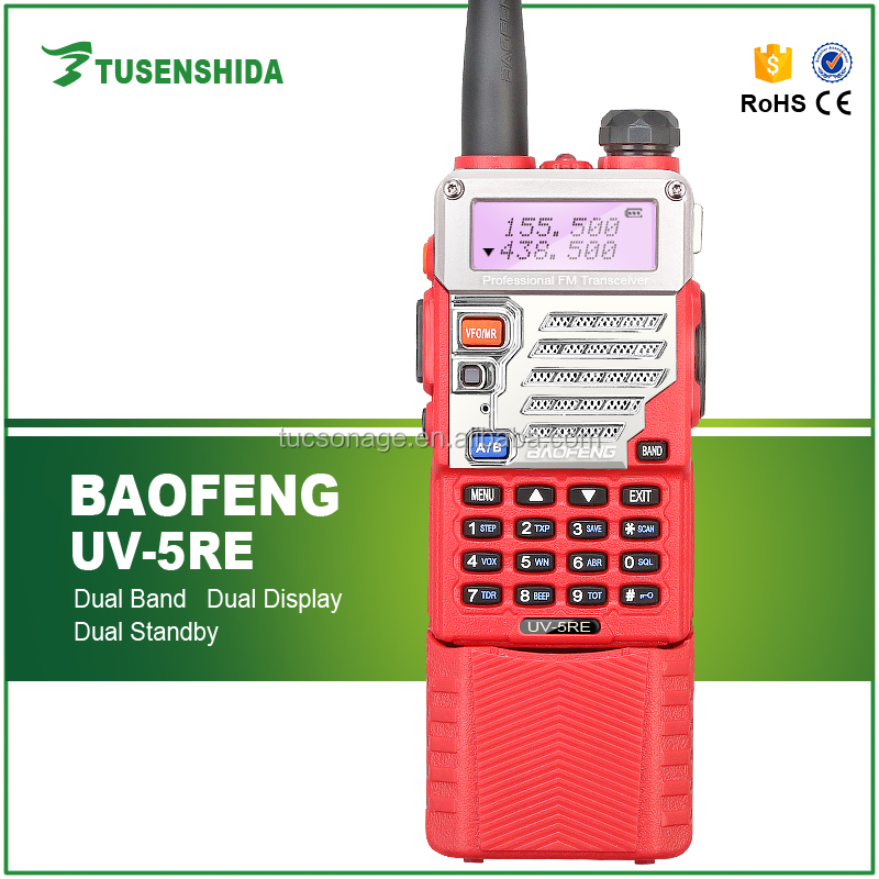 Dual Band Display two way radio for Baofeng BF-UV5RE car radio