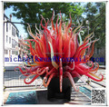 Hand made blowing murano glass art large outdoor statues
