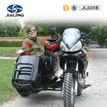 JH600B 600CC cool moto with motorcycles sidecar kit for sale