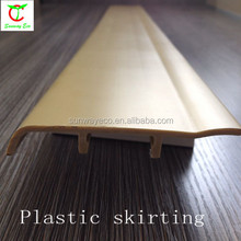 Wpc indoor wood plastic composite board/plastic skirting board