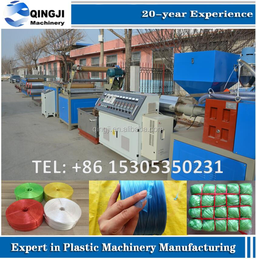 PP cable filler rope making machine/plastic twine extruder