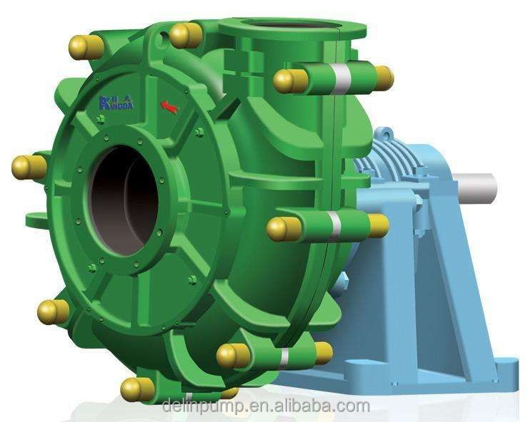 Heavy duty coal washery sand mud sewage slurry pump