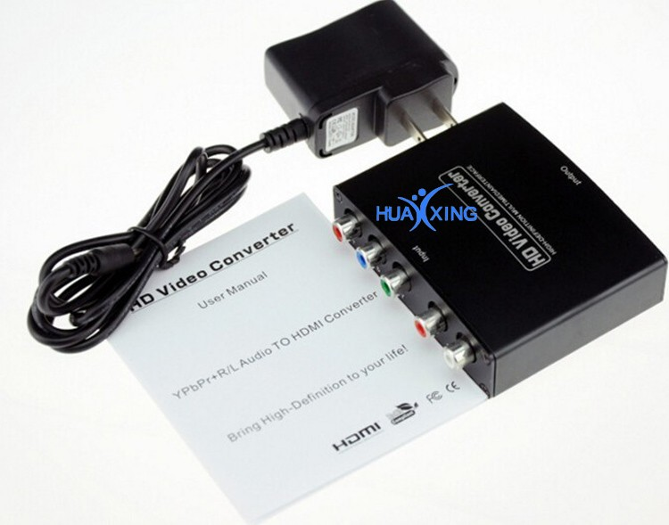 1080 (Hdmi To Audio/Video )Hdmi To Ypbpr Rgb S-Video Converter Manufacturer