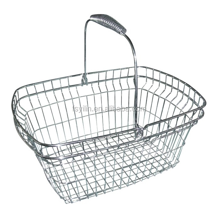 2015 new style metal shopping basket