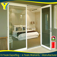 China suppliers high quality apartment casement entry door with window that opens entry door glass inserts