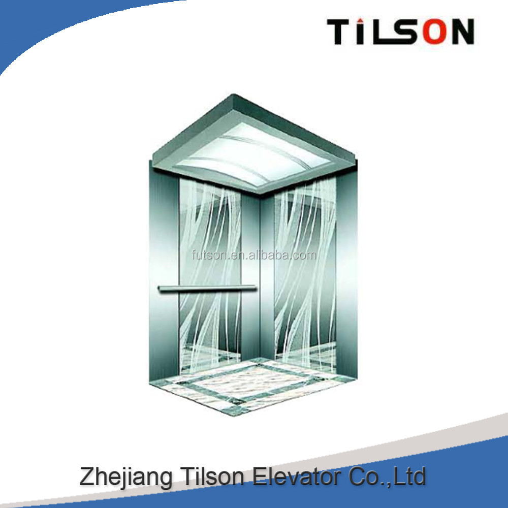 Germany Tilson business style passenger elevators new commercial elevator made in China