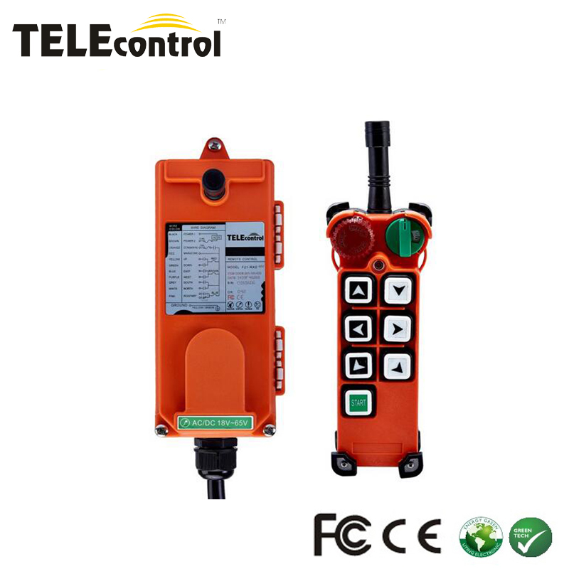 (include 1 transmitter and 1 receiver)F21-E2 6 buttons 1 Speed Hoist crane remote control wireless Uting remote control