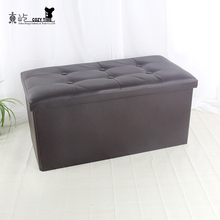 wholesale folding ottoman decorative storage box sale