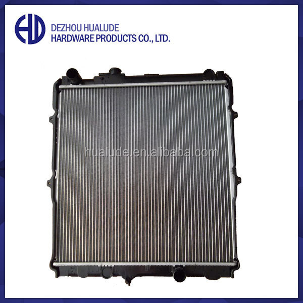high quality aluminum radiator plastic parts