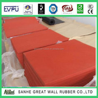adhesive backed rubbe sheet/ opened cell foam rubber mat