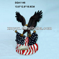 Garden decoration resin large eagle statues