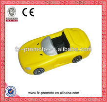 Soft PU car,best selling promotional toy for kids
