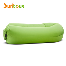 Waterproof Round Shape Inflatable Air Lounger Lazy Bag Chair Air Sofa Bed Sleeping Bag For Beach Camping