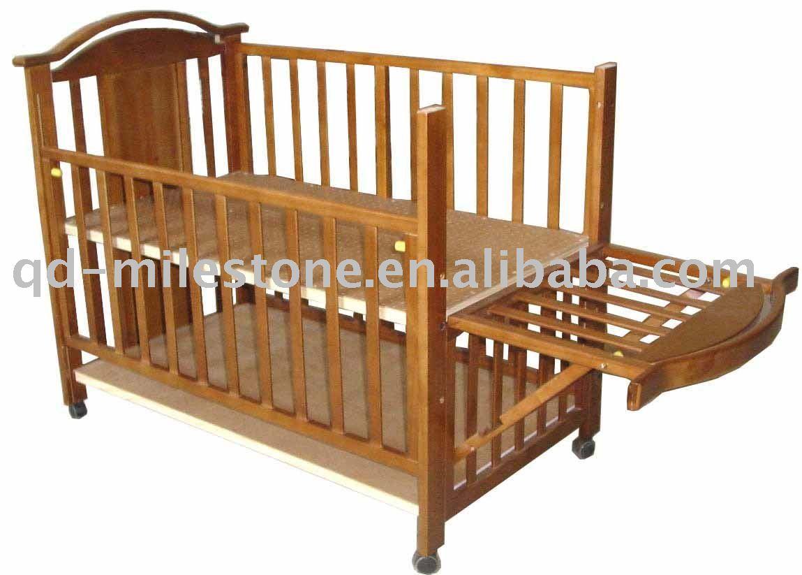 Cama de madeira do bebê Berços para bebês ID do produto:331403229  #744121 1149x823