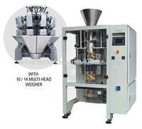 Automatic VFFS type packaging machine with multihead and touch PLC