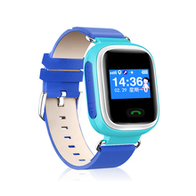 kids cell phone gps tracking anti lost sos emergency watch q60