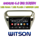 "WITSON 9"" SCREEN Android 6.0 CAR DVD NAVIGATION For CITROEN ELYSEE PEUGEOT 301"